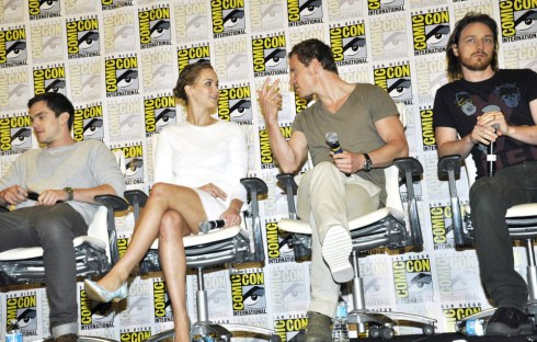 hoult-lawrence-fassbender-mcavoy-comic-con-international-2013-01